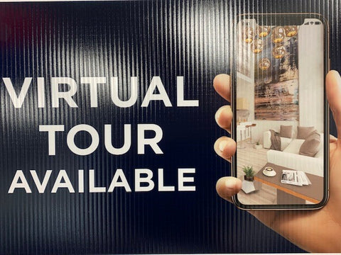 Virtual Tour Sign