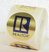 Realtor Logo Sticker Sm 500