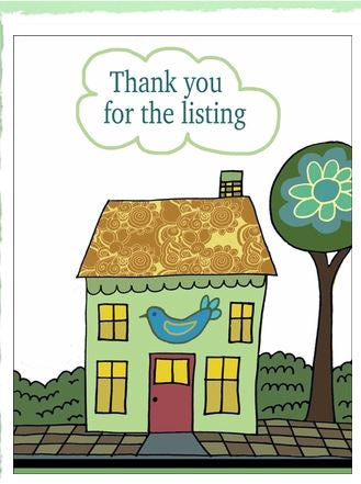 Thank You for the Listing Card/12