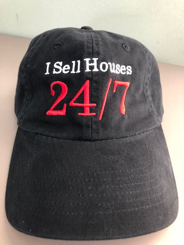 Cap I Sell Black