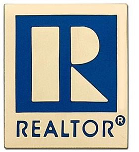 Realtor Lapel Pin Lg Magnet Gold