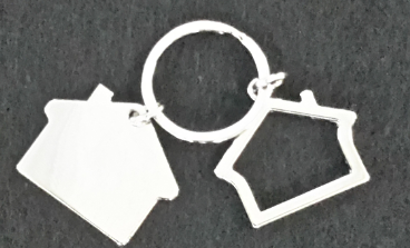 Key Chain Double House