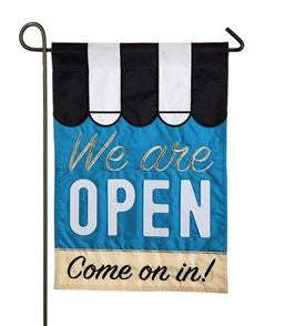 We Are Open Flag
