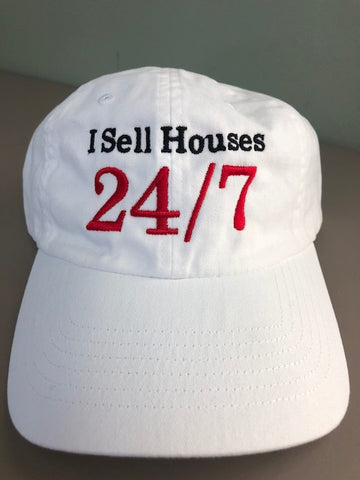 Cap I Sell Houses White