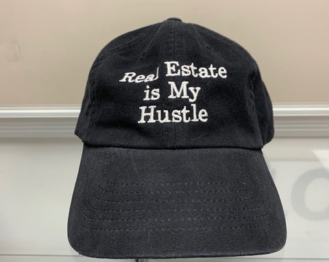 Cap Hustle Black