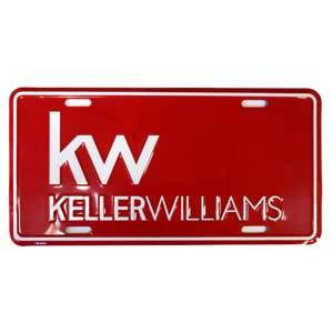 Keller Williams License Plate