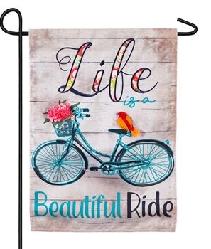Life is Beautiful Ride Flag