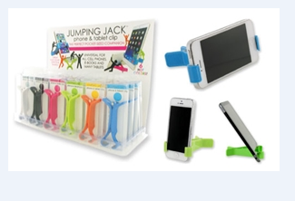 Jumping Jack Phone/Tablet Clip