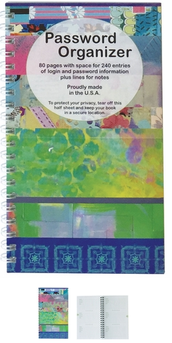 Password Organizer Book