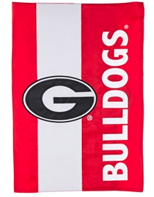 University of Georgia Embellish Flag