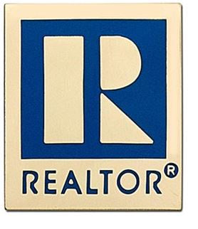 Realtor Lapel Pin Sm Magnet Gold