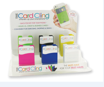 Card Cling Phone Pocket