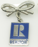 Realtor Hanging Bow Pin