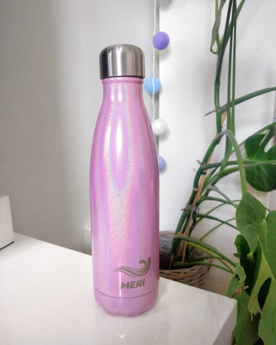 Meribottles cotton candy 500ml metallinen vesipullo