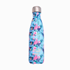 Tropical stainless steel water bottle