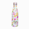 Flower coated reusable water bottle