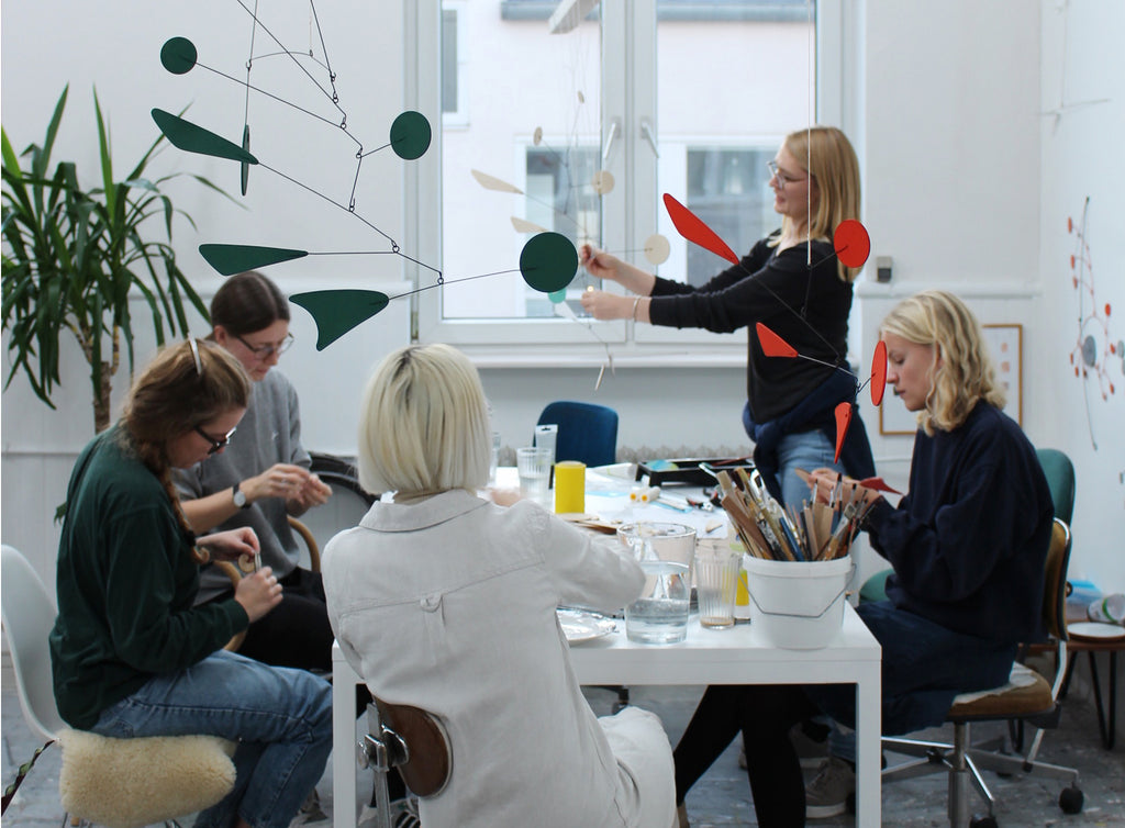 Build your own mobile at the Danish Architecture Center DAC