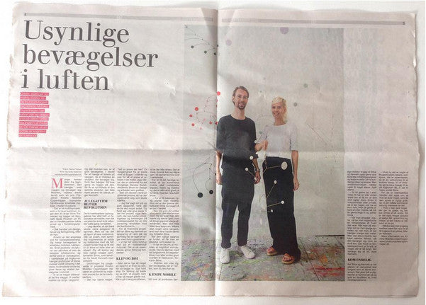 Interview in Bryggebladet about Kinetic Mobiles Copenhagen