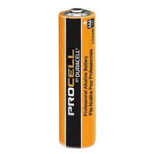 Duracell Procell Alkaline 1.5v AAA CELL PC2400 Batteries
