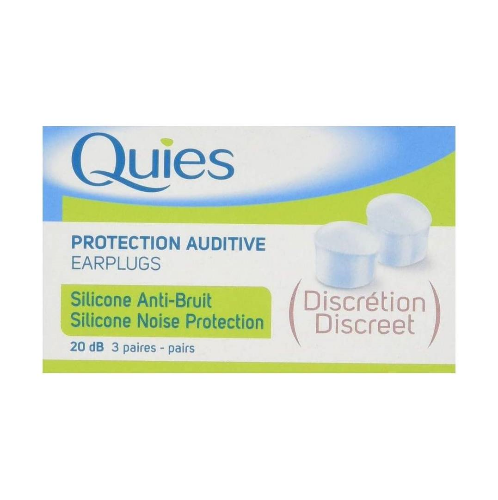 Quies Soft Silicone Ear Plugs