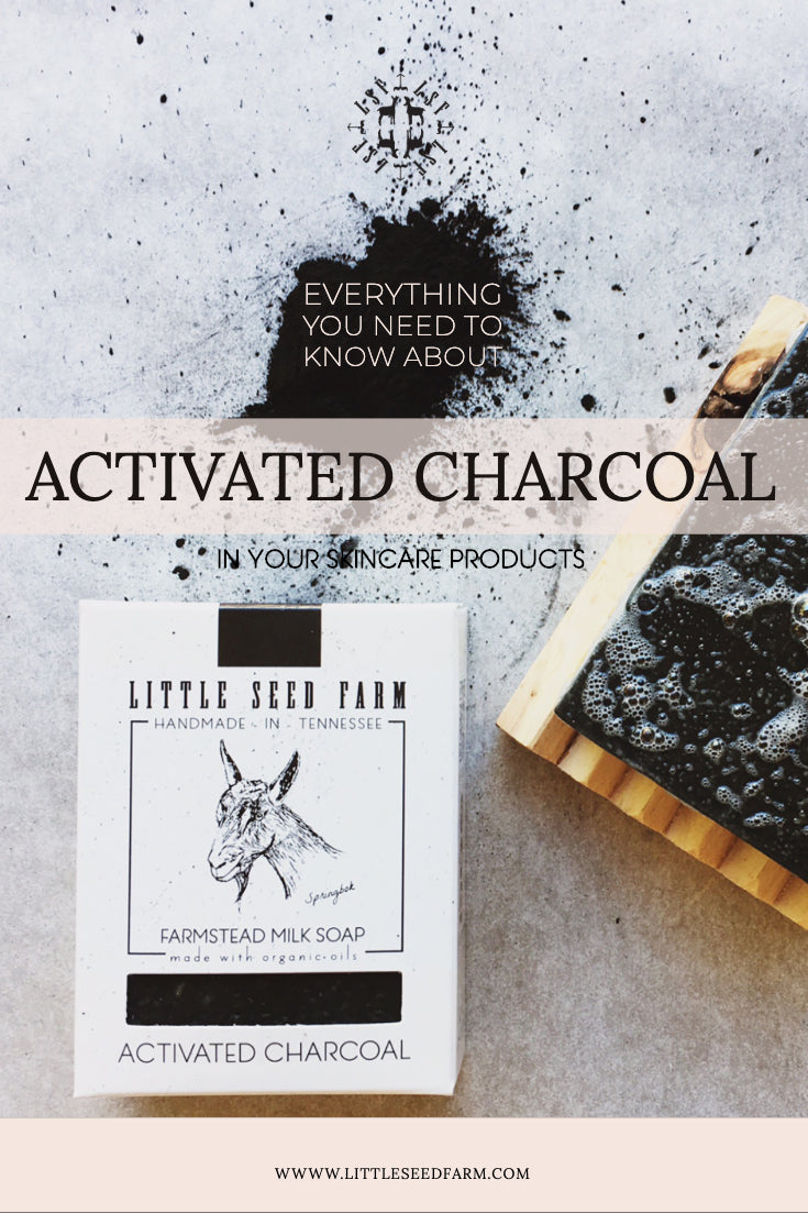 Everything you need to know about activated charcoal in your skincare products.
