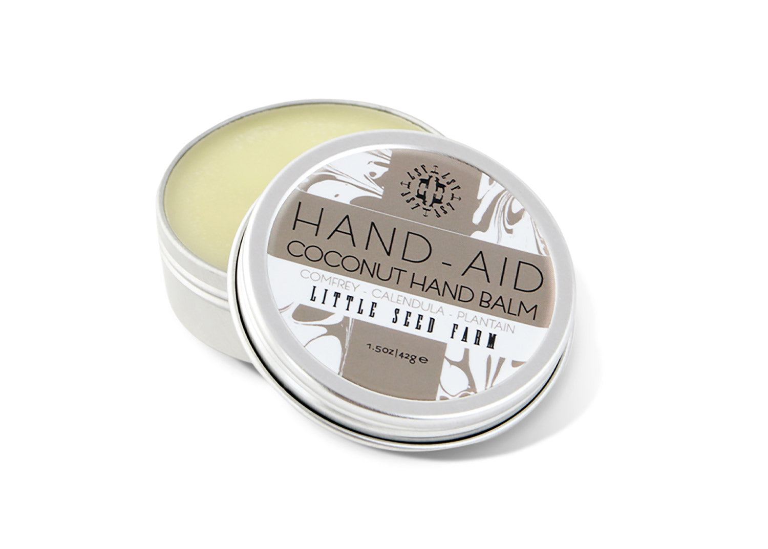 Coconut Hand Balm made with organic ingredients and natural coconut extract
