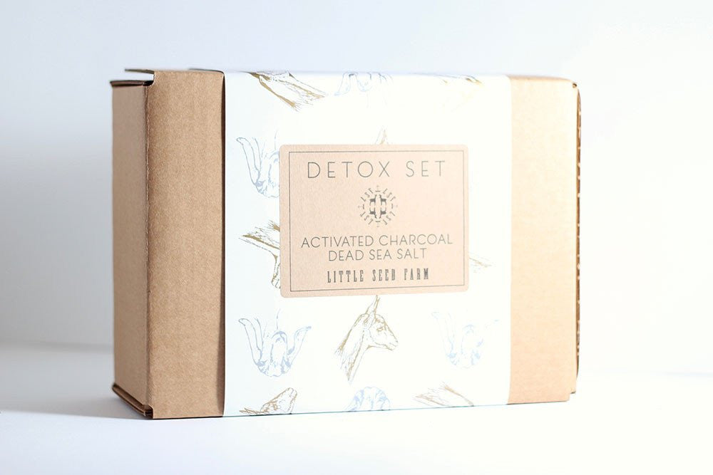 Activated Charcoal Set - Gift Boxed!