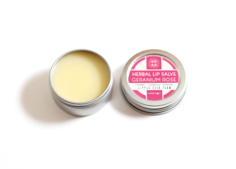 Herbal Lip Salve - 5 Scents