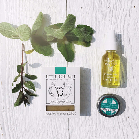 Rosemary Mint Scent Set - Gift Boxed!