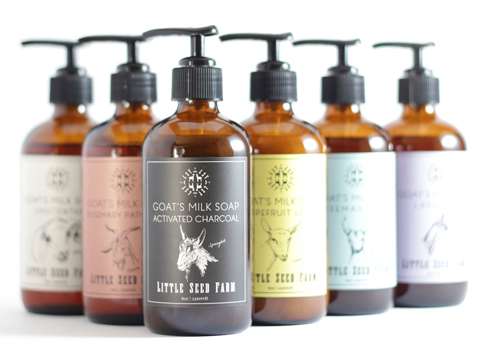 Liquid Soap - 6 Scents
