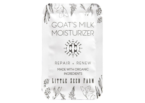 FREE Goat's Milk Moisturizer Sample