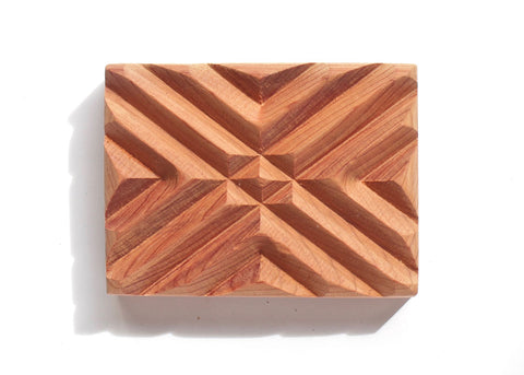 Signature Handmade Cedar Wood Soap Dish