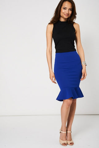 ON TOUR MIDI SKIRT