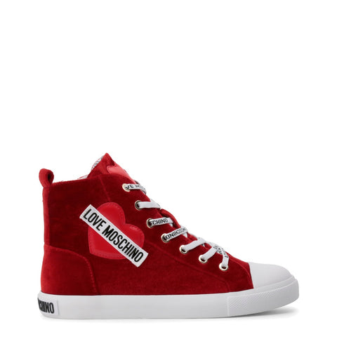 LOVE MOSCHINO RED SNEAKER *LIMITED EDITION