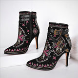 GENEVA EMBROIDERED BOOT
