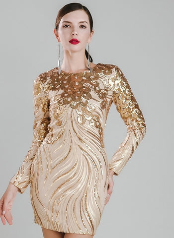 GATSBY EMBELLISHED DRESS