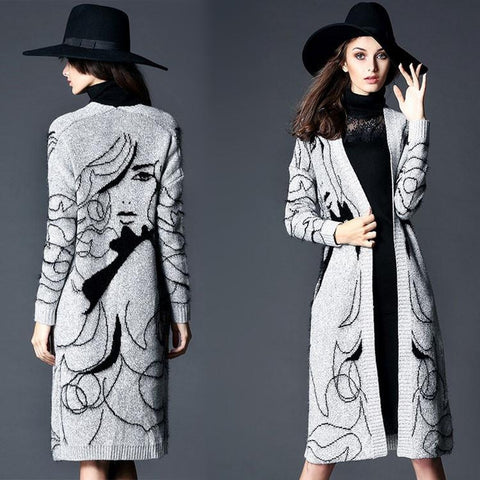 WHIMSY SWEATER COAT