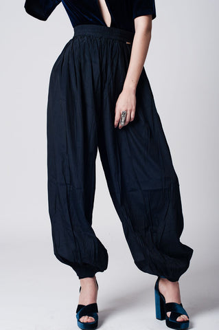 TSF NAVY BLUE BALLOON PANTS