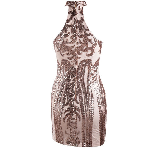 THEORY SEQUIN MINI DRESS
