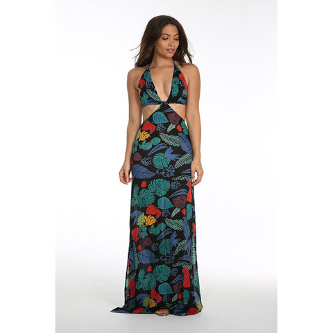 PRESSLEY CUTOUT MAXI DRESS