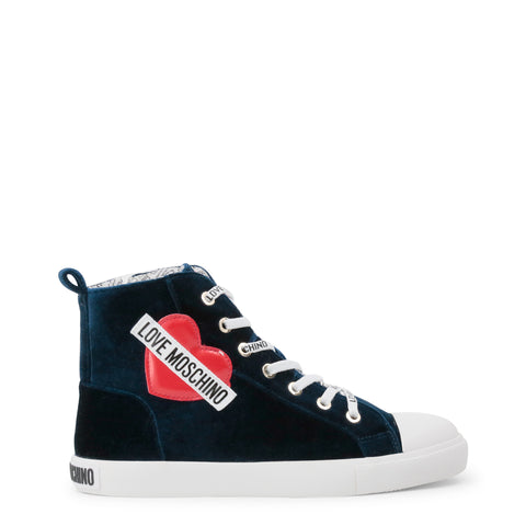 LOVE MOSCHINO BLACK HEART SNEAKERS *LIMITED EDITION*