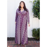 GABRIELLE MAXI DRESS *PLUS SIZE