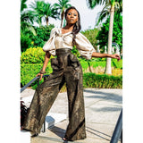 IDIRA HIGH WAIST WIDE LEG PANTS *LIMITED EDITION*