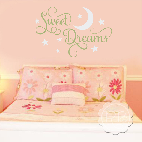 SWEET DREAMS Children's Wall Decal