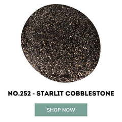 Starlit Cobblestone bio sculpture gel nails