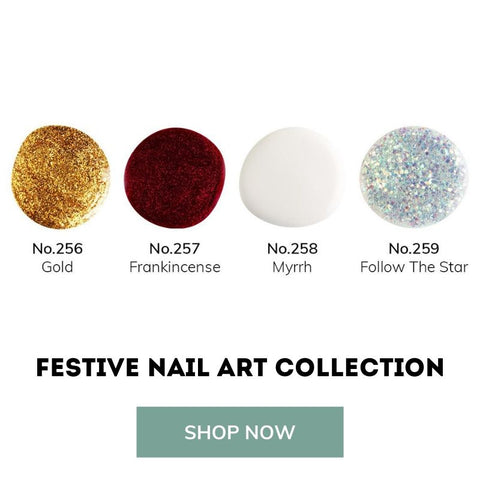 festive nail art collection bio sculpture