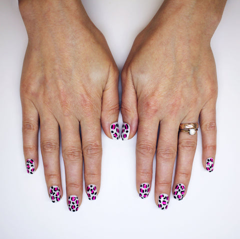 Leopard Print Nails Step By Step Renew Beauty