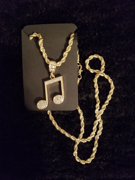 Afterglow92416 Music Themed Necklaces