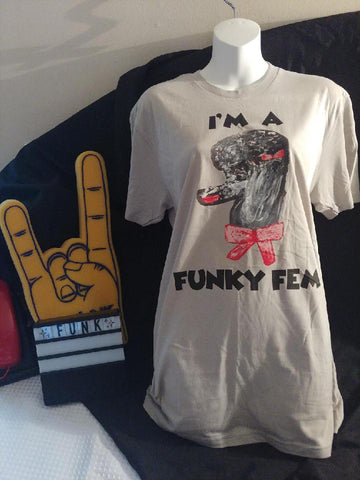 The WOOF Funky Fem T-Shirt