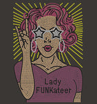 Bling Lady FUNKateer T-shirt (S-XL)